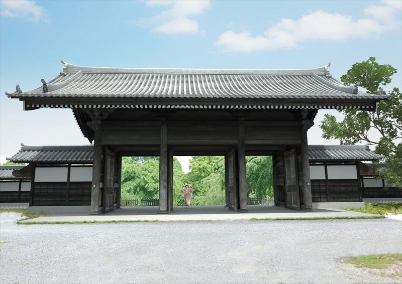 東郷寺山門(習作)