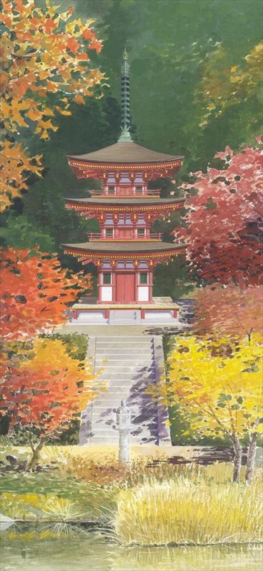 国宝・浄瑠璃寺三重塔