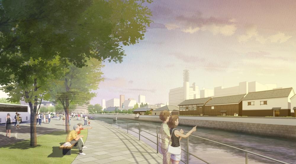 某河川際公園整備計画