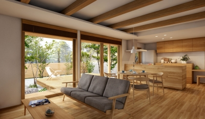 木かげの家