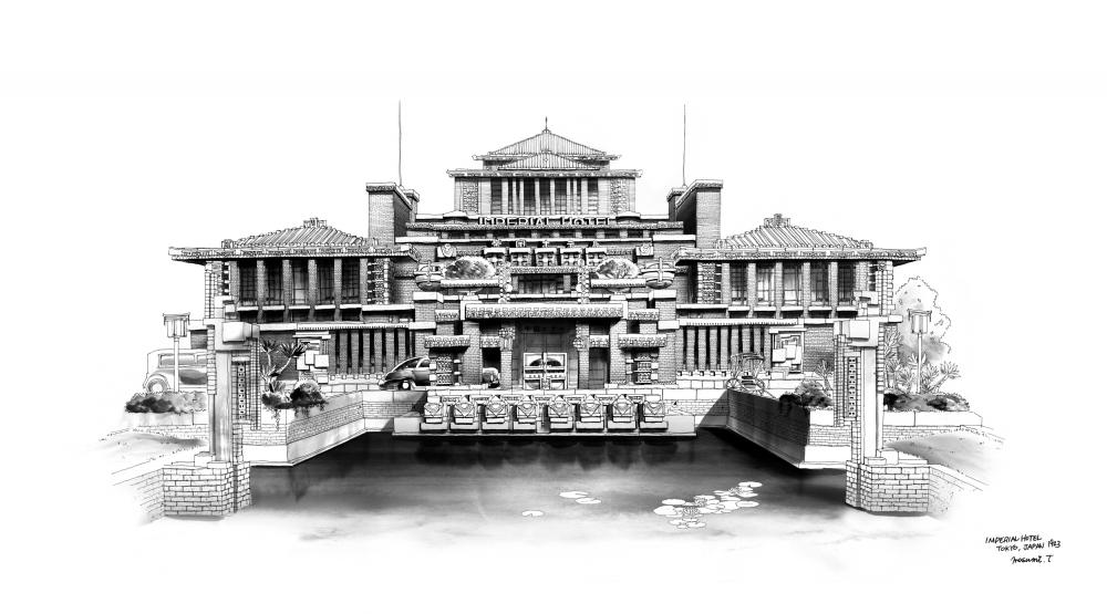 IMPERIAL HOTEL.TOKYO.JAPAN1923