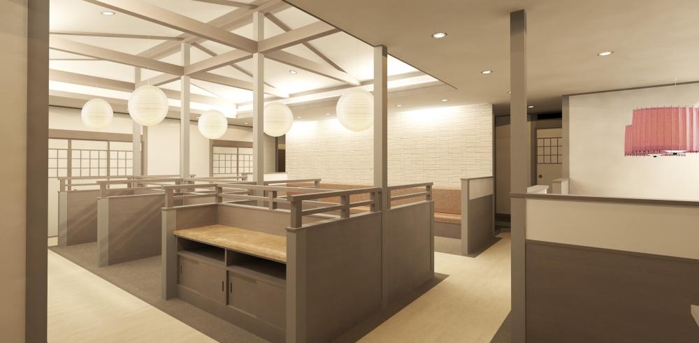 BIMによる小規模建築設計 内観パース