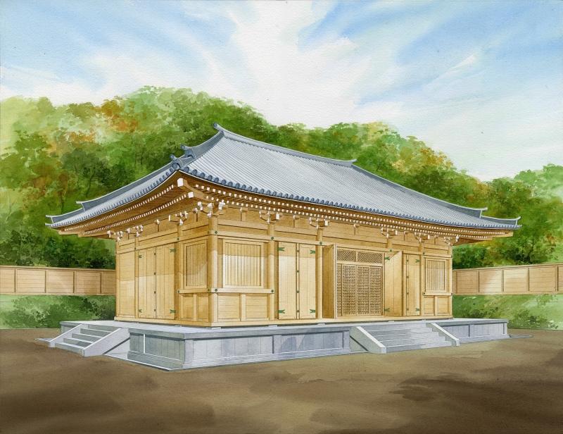 栴檀寺-薬師堂(金堂)