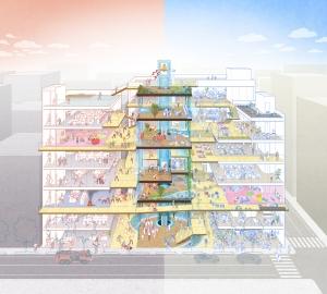 街を守る救水塔