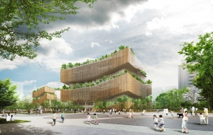 台湾桃園市立図書館