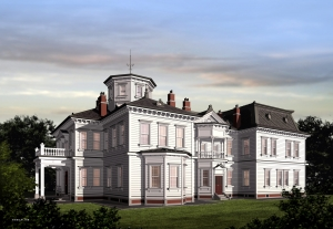 旧有栖川宮の別邸